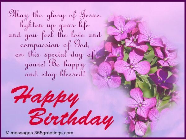 Christian Birthday Wishes – Greetings on Birthday