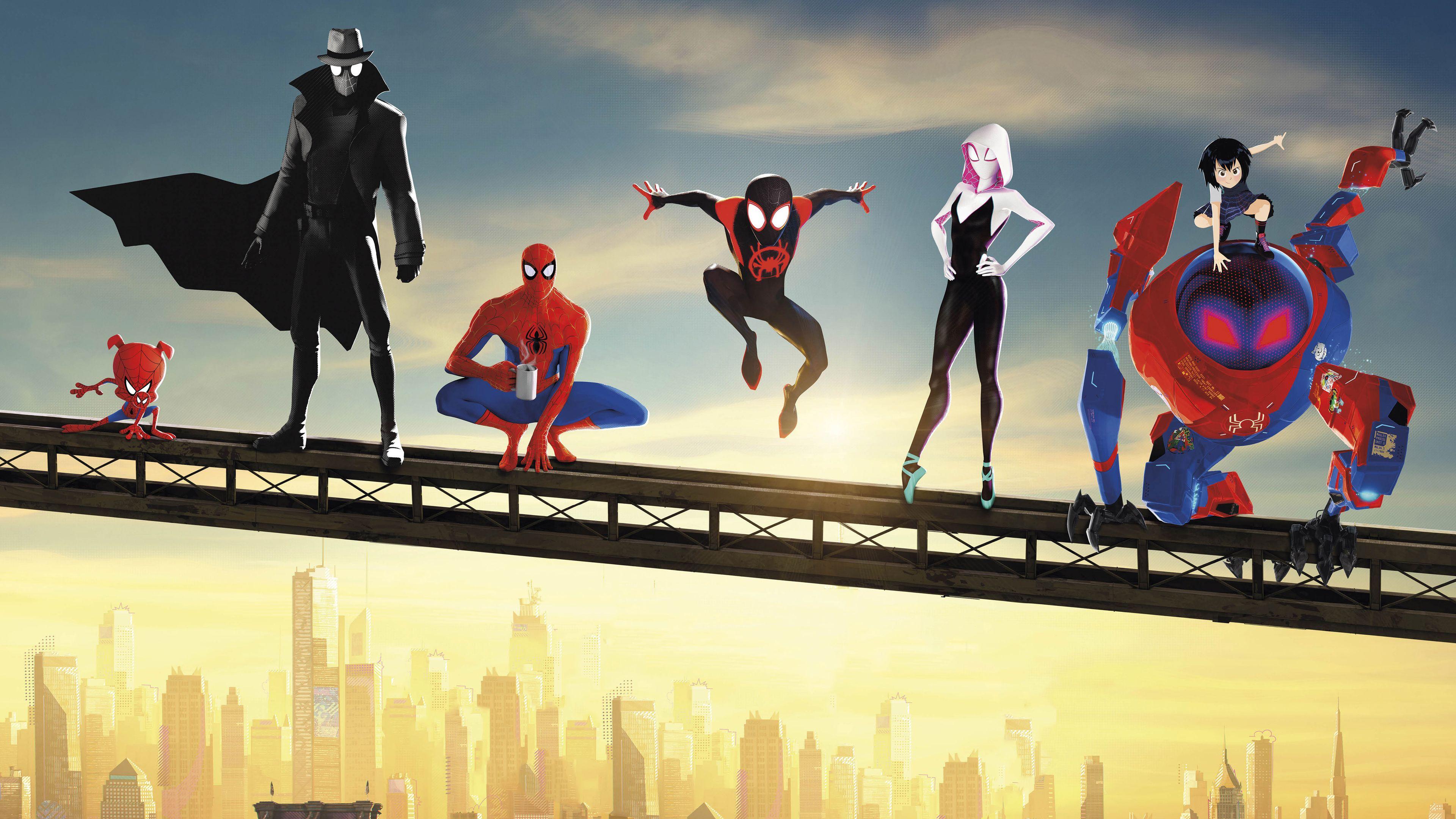 Spiderman Into The Spider Verse Movie Poster Spiderman Wallpapers Spiderman Spiderman Into The Spider Verse Ultimate Spiderman Spiderman Into The Spiderverse