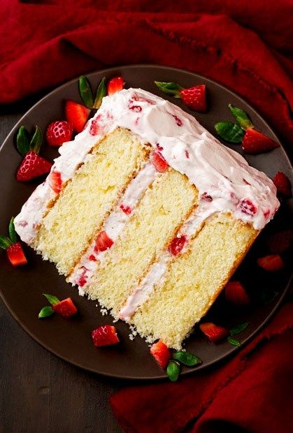 Best Strawberry Cake | Page 2 of 2 | Recipes of Holly – Easy and Quick Recipes