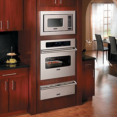kitchen appliances wall oven microwave