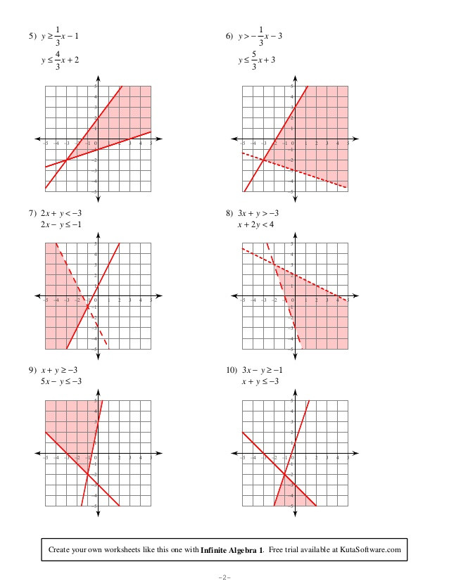 Algebra 2 assignment Answer Key Best Of solving Systems Of