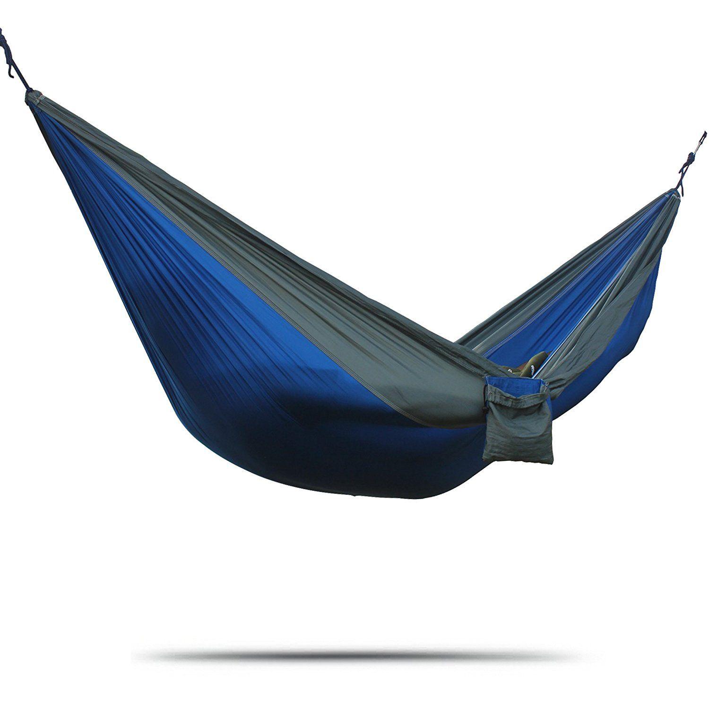 azsport double parachute nylon hammock  pact and lightweight ideal for travel tree straps azsport double parachute nylon hammock  pact and lightweight      rh   pinterest