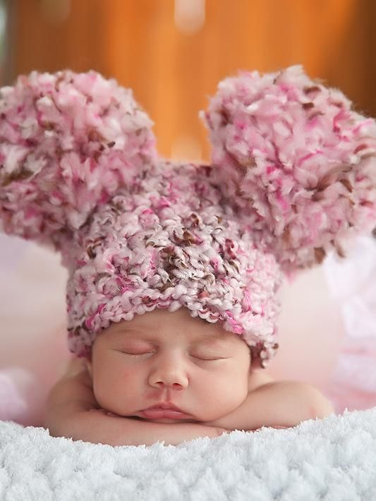 18 colors giant pom pom winter hat - 9 - 12 Month