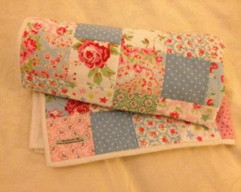 Cath Kidston Shabby Chic Patchwork Quilt / Bedspread / Baby ... : shabby chic baby quilt - Adamdwight.com