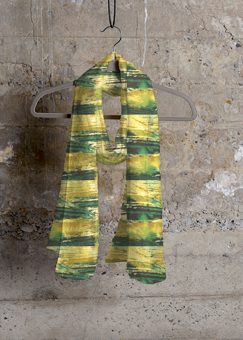 Cashmere Silk Scarf - grassy green by VIDA VIDA Gc8UxKg6Nd