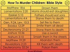 Image result for violent verses in bible vs quran