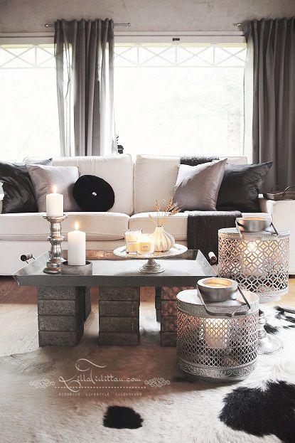 Olohuoneen DIY pöytä | Lilla Tirlittan