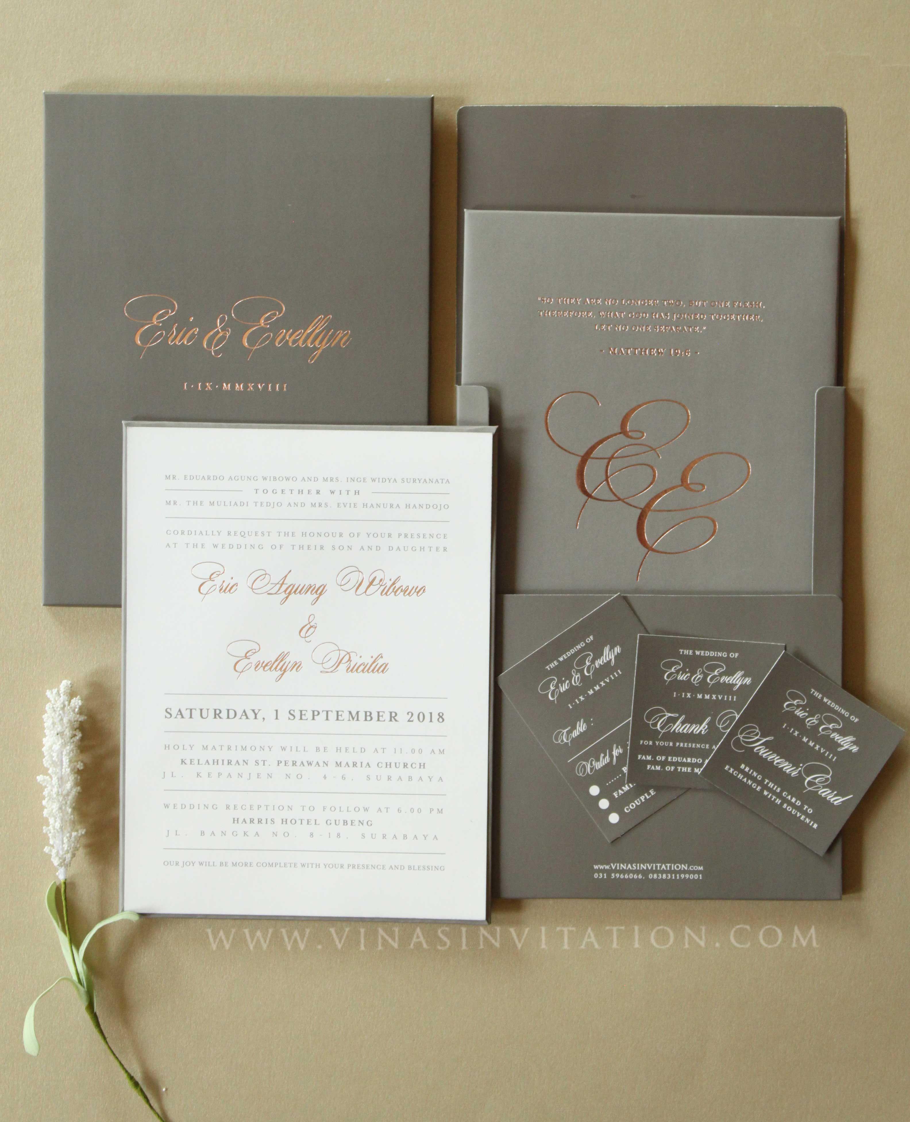 Vinas Invitation Simple Elegant Wedding Invitation Sydney Wedding Invitation Australia Wedding Invitation G Kartu Pernikahan Undangan Pernikahan Perkawinan