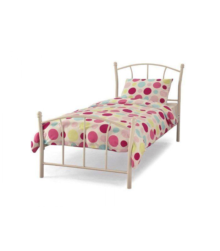 Penny Single Bedstead in White | Girls bedroom by Katharine McCann ...