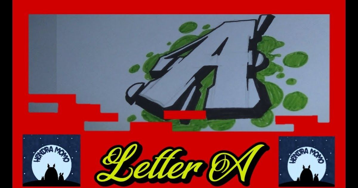 Gambar Grafiti Tulisan Joker Gambar Huruf J Graffiti Mazy