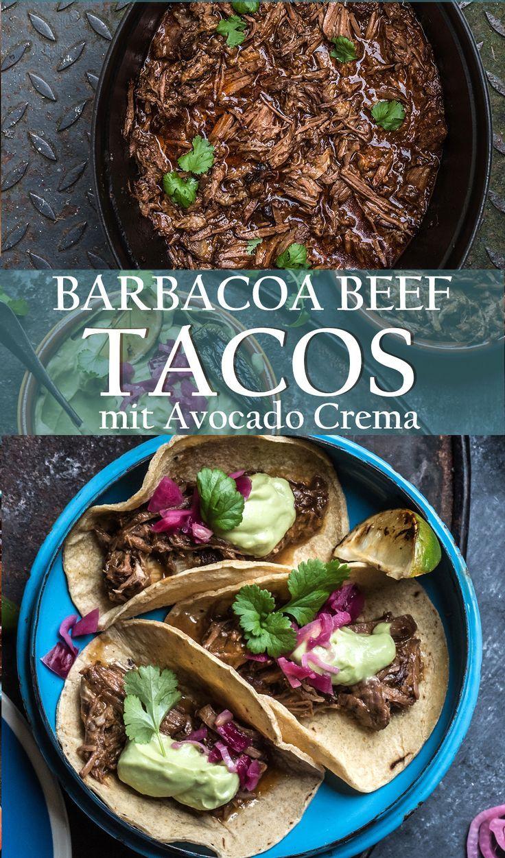 Barbacoa Style Beef Tacos - geschmortes mexikanisches Rindfleisch #mexicanshrimprecipes