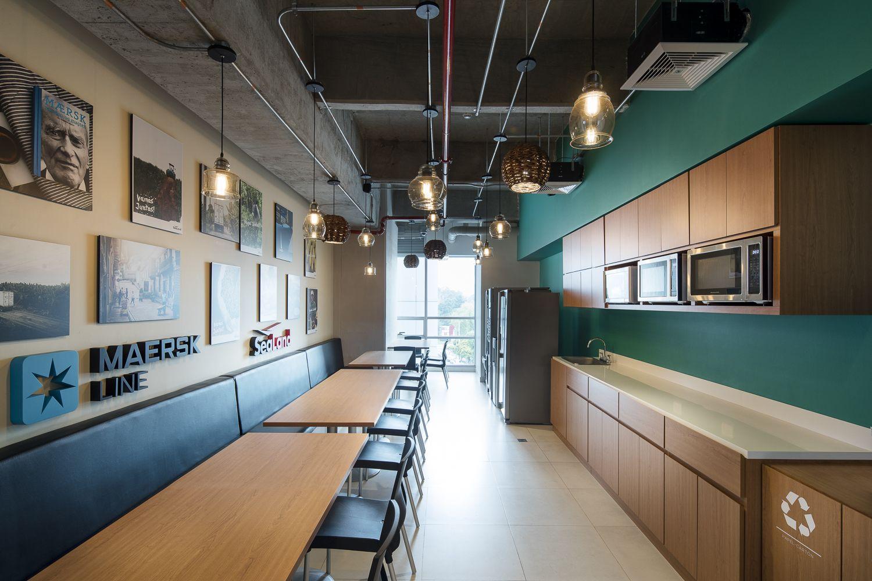 Oficinas de maersk dise o y construcci n arquitectura e for Arquitectura diseno y construccion