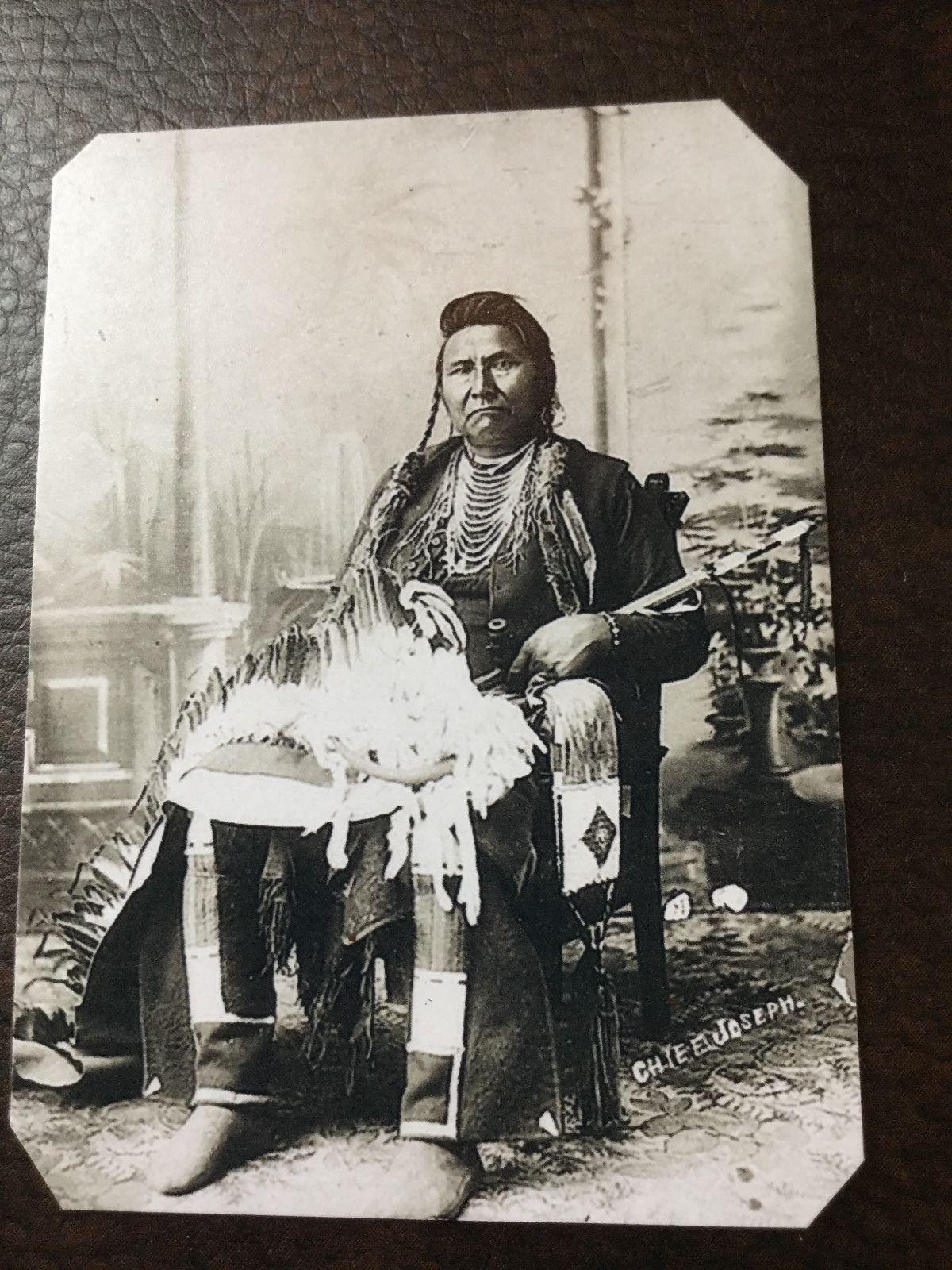 Native American Chief Joseph