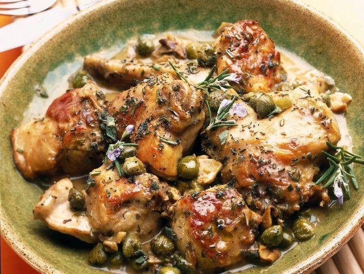 Photo of Rabbit with anchovies and mushrooms recipe Modern Woman