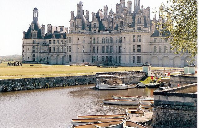 Loire River Valley, Chateau at Chambord by m. muraskin-france, via Flickr.