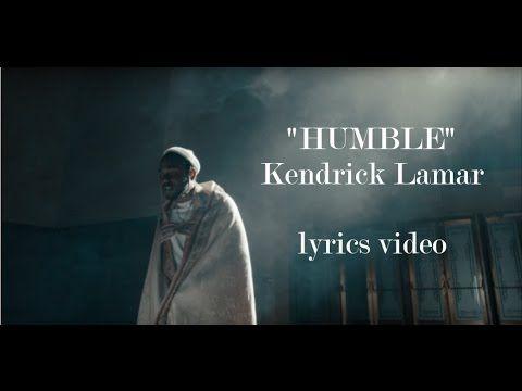 Kendrick Lamar Humble Lyrics Youtube Kendrick Lamar Humble