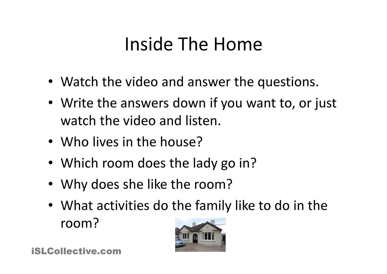 Me And My Home For English Teachers Pinterest English English