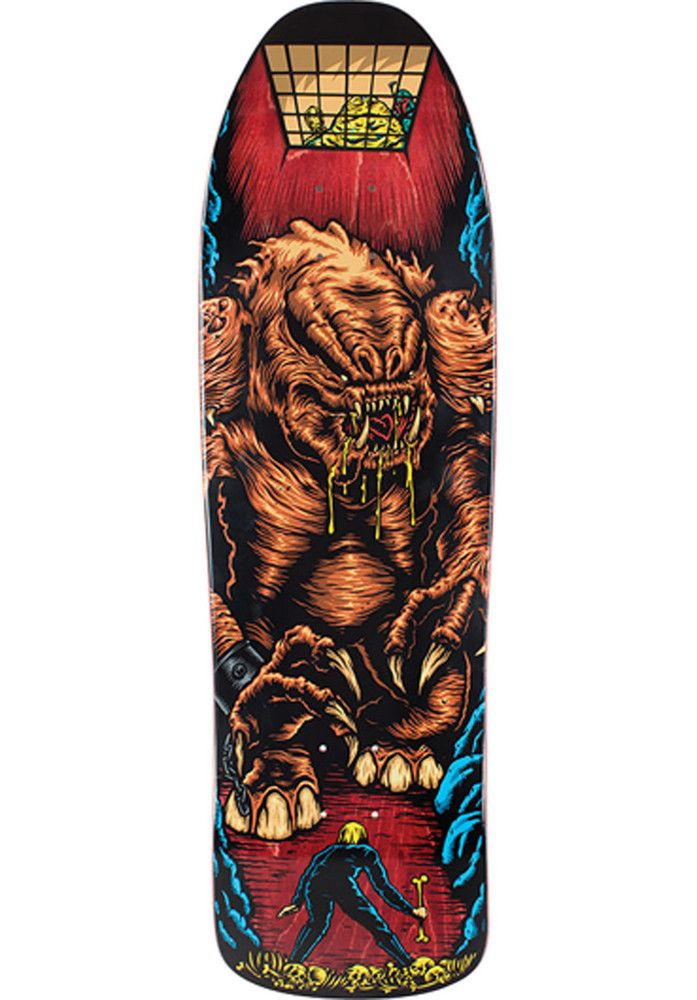Santa-Cruz Star-Wars-Rancor-Scene, Deck, multicolored Titus Titus Skateshop #Deck #Skateboard #titus #titusskateshop