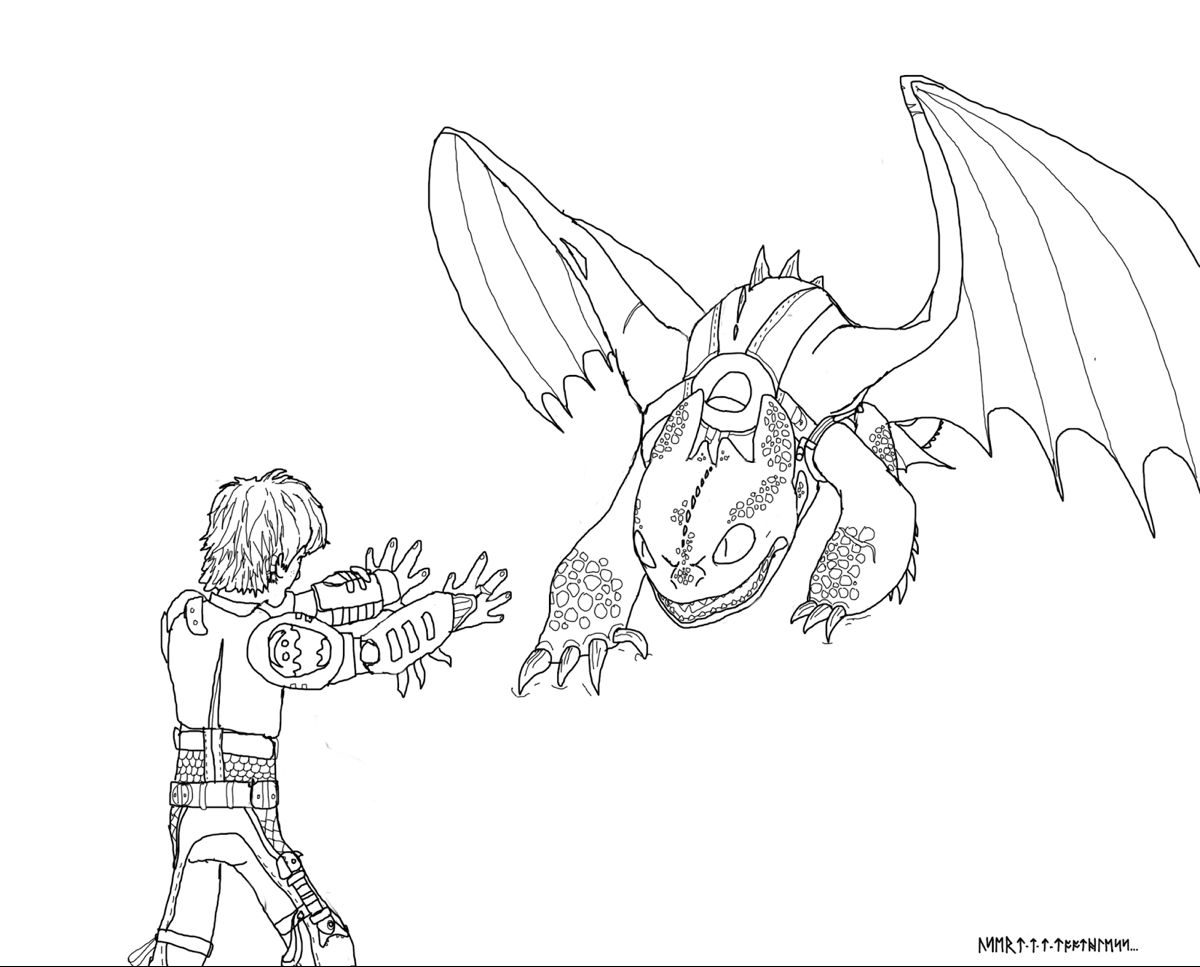 How To Train Your Dragon Scauldron Coloring Pages How Train