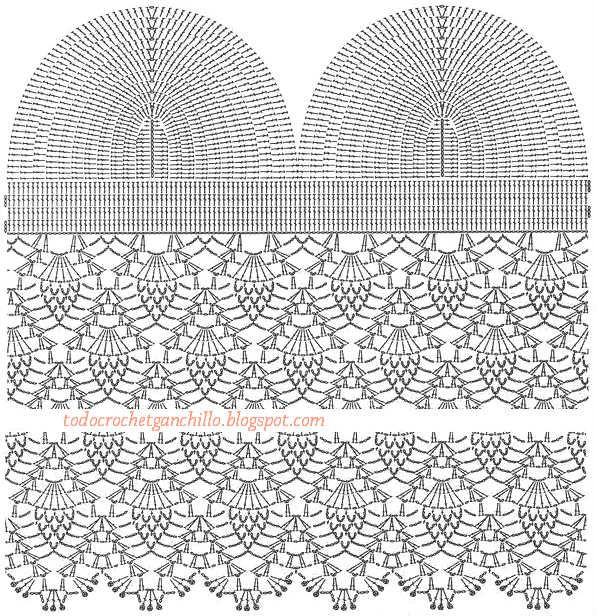 Todo crochet | Patrones | Crochet, Crochet patterns y Crochet clothes