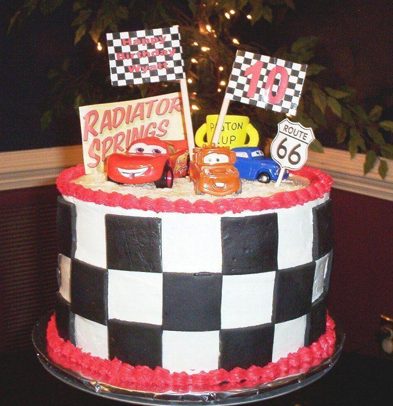 Image Detail for disney cars cake5 290x300 Disney Cars Cake Made