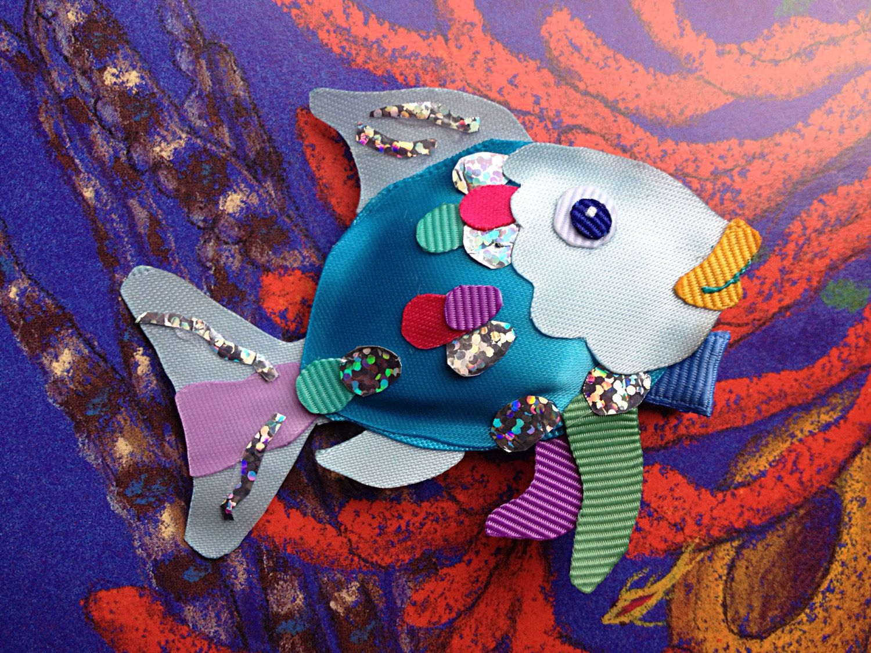 Rainbow Fish Clip By Christinaland128 On Etsy 10 00