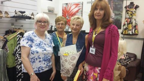 Farewell to our lovely volunteer Joyce after six years at ADU