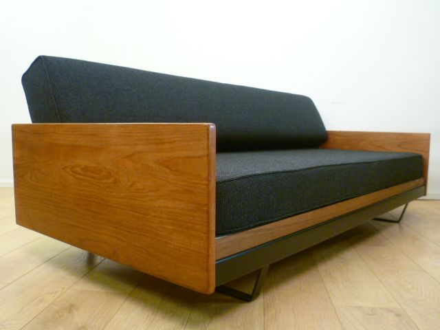 Buy Retro Double Sofa Bed By Robin Day From Mark Parrish Mid Century Modern  Furniture,