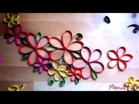 12 Ide Hiasan Dinding Kreatif Dari Kertas Cara Membuatnya