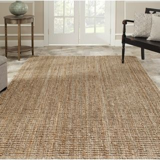 Safavieh Casual Natural Fiber Hand Woven Accents Chunky Thick Jute Rug 8