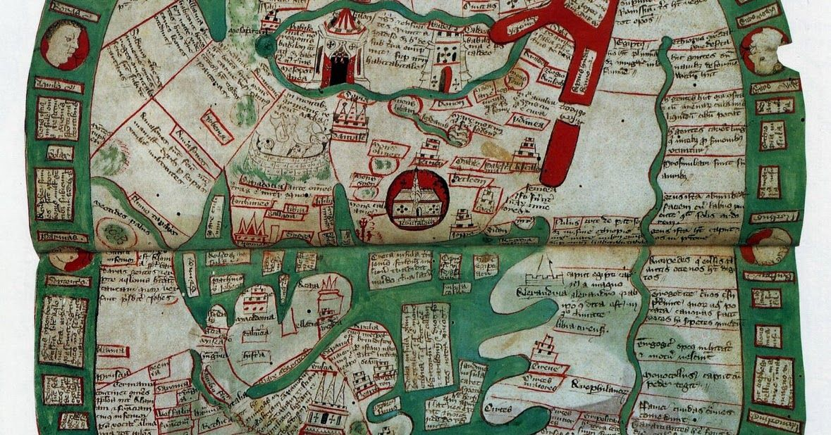 Ancient world maps world map 14th century maps pinterest ancient world maps world map 14th century gumiabroncs Gallery