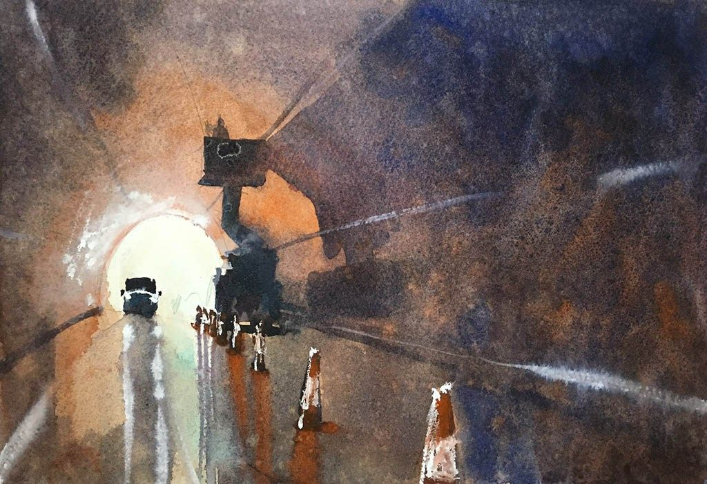 Guest Artist 100 Watercolor Paintings Of City Scenes By Gareth