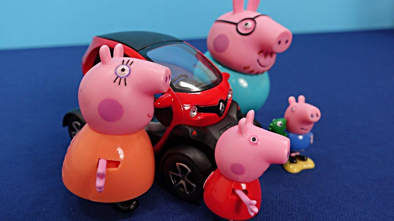 Peppa Pig en français. Le dernier jour de Peppa à l'école. Peppa et une ...