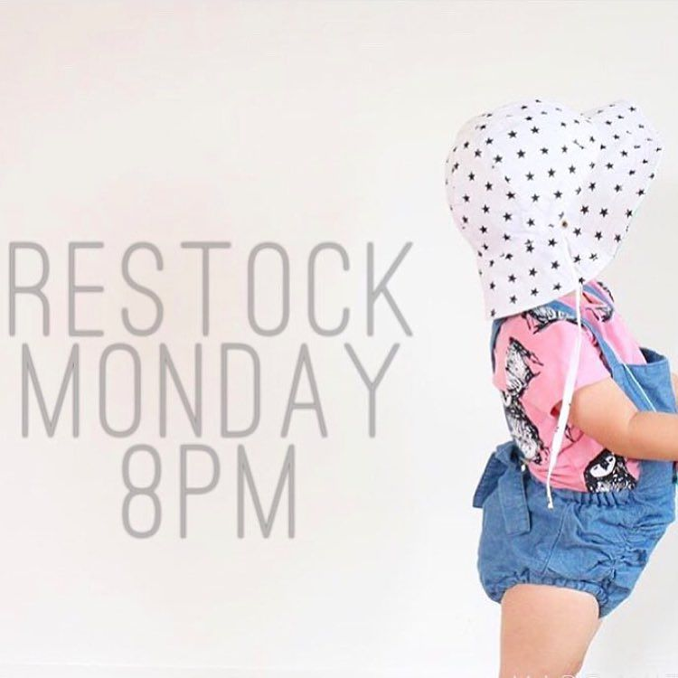 Set Your Alarms One Of Our Favs At Siennaandme Is Restocking At 8pm