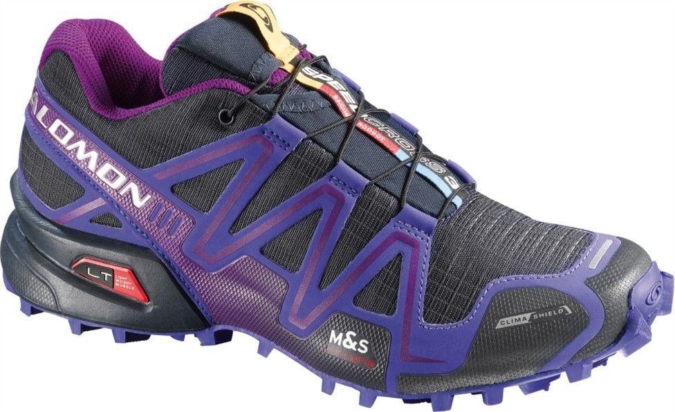 speedcross 3 cs w mountain trail running footwear trail - maschio salomon speed cross 3 grigio viola