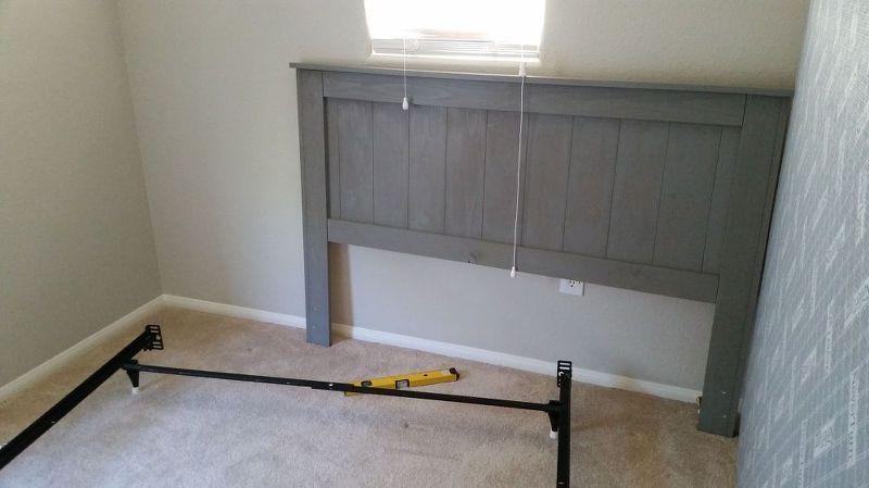 diy queen headboard for 35 bedroom ideas painted furniture & DIY Queen Headboard for $35   Libby   Pinterest   Bedroom Queen ...