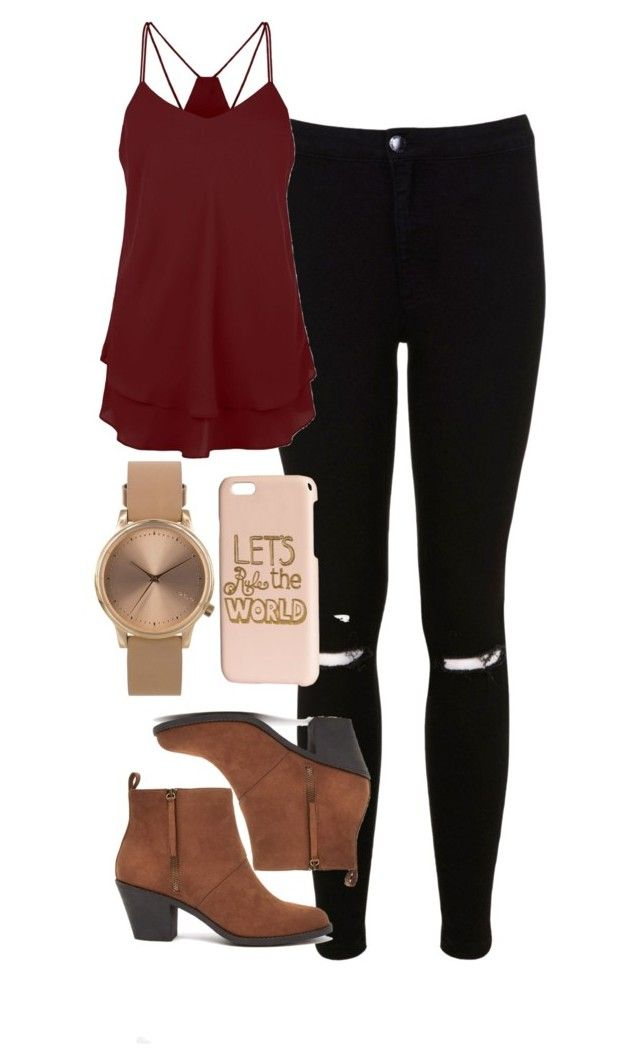 """""""Bonnie Bennett Inspired Outfit"""" by mytvdstyle ❤ liked on Polyvore featuring Miss Selfridge, Forever 21, Topshop, H&M, Inspired, tvd and thevampirediaries"""
