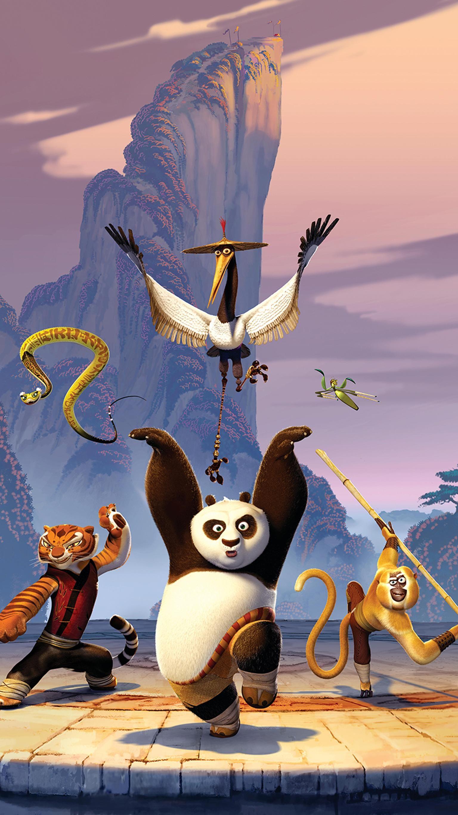 Kung Fu Panda 2008 Phone Wallpaper Moviemania Kung Fu Panda Animacoes Legais Filmes Desenhos Animados