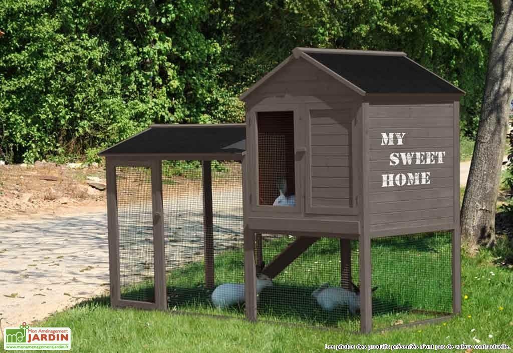 clapier pour animaux abri pour animaux arbi lapin. Black Bedroom Furniture Sets. Home Design Ideas