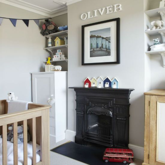 Go for grown-up colours | Nursery decorating ideas | Nursery | PHOTO GALLERY | Ideal Home | Housetohome
