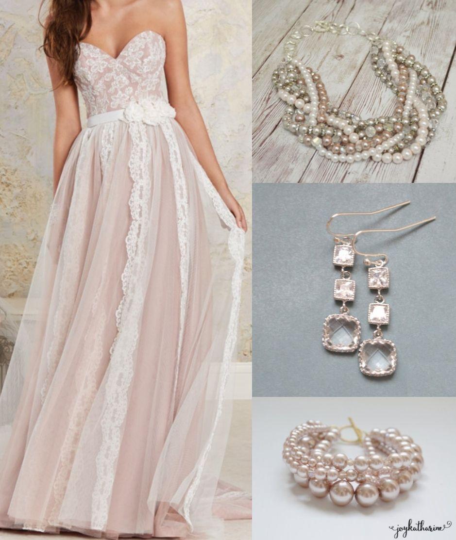 25++ What jewelry to wear with wedding dress info