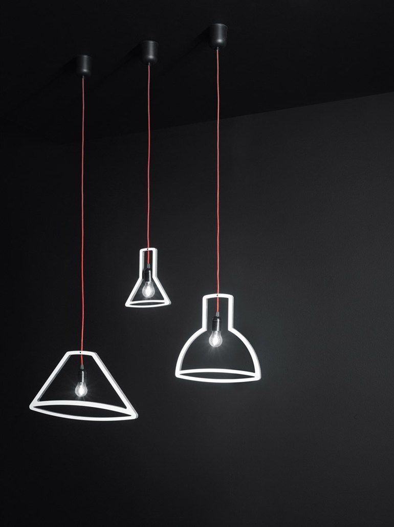 Direct light pendant lamp OUTLINER by Boffi design Martin