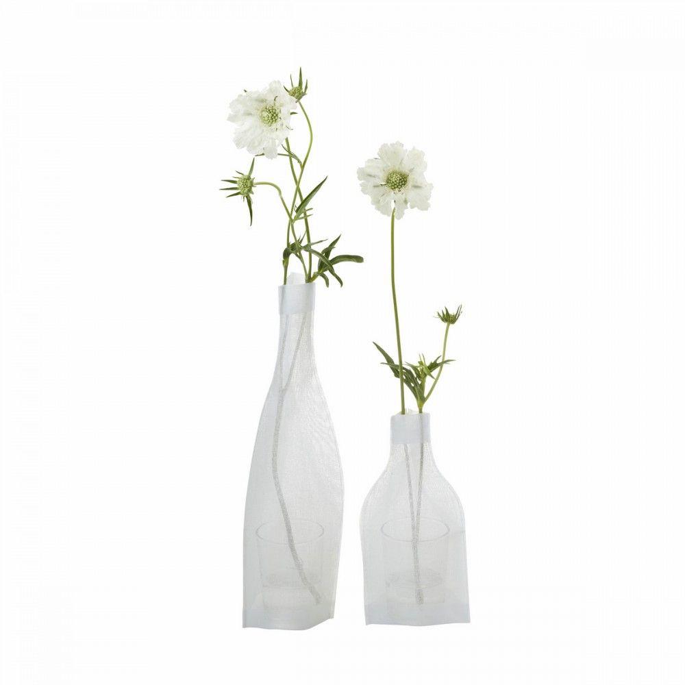 Vase Soliflore Moyen Modele Gaze De Coton Merci Bouteilles