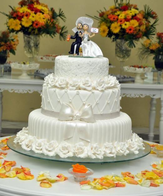Como Escolher Bolo De Casamento Com Imagens Topo De Bolo De