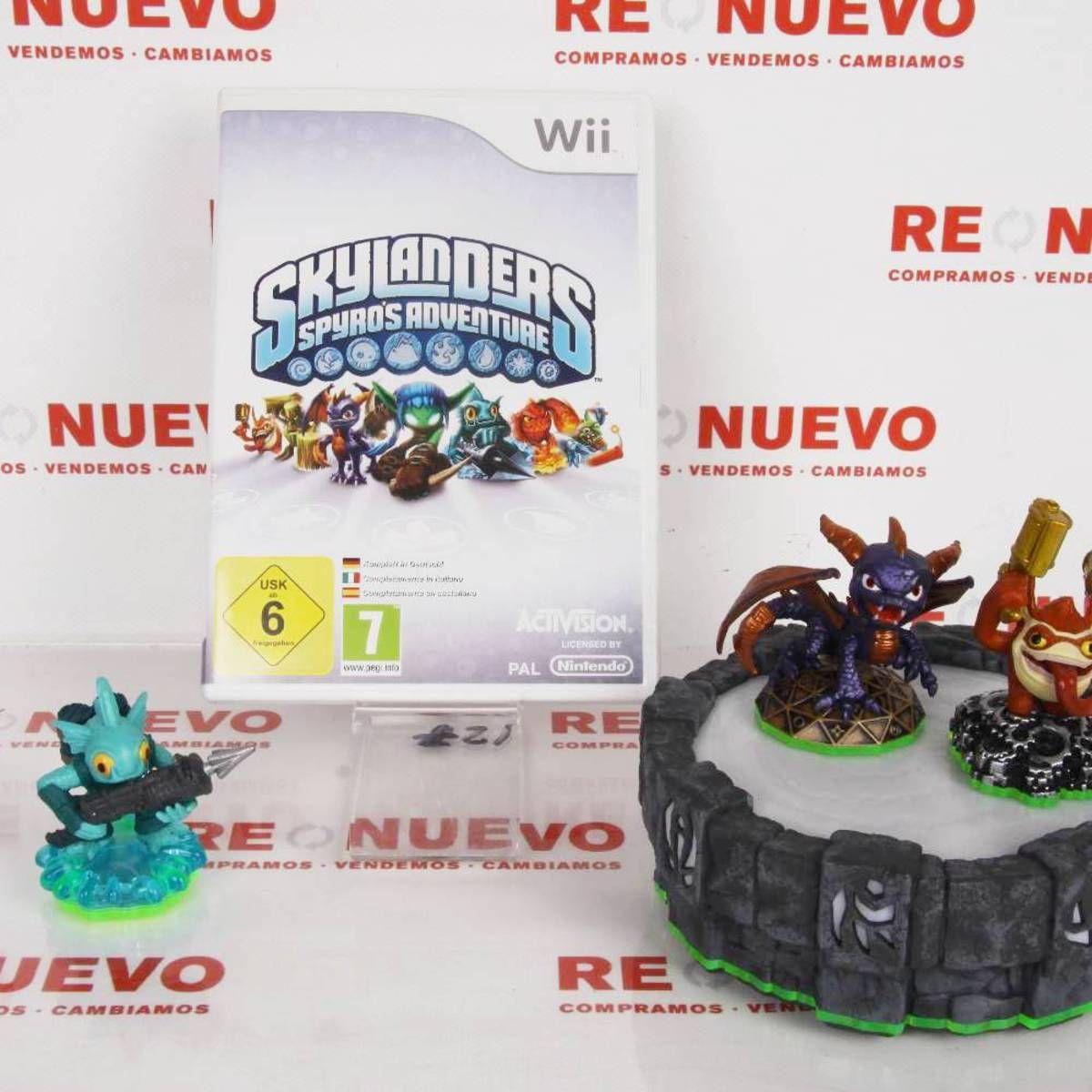 Juego Skylanders Para Wii De Segunda Mano E271827 Juego Skylanders