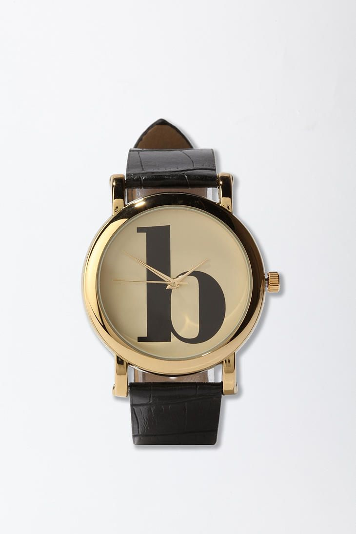 typewriter initial watch