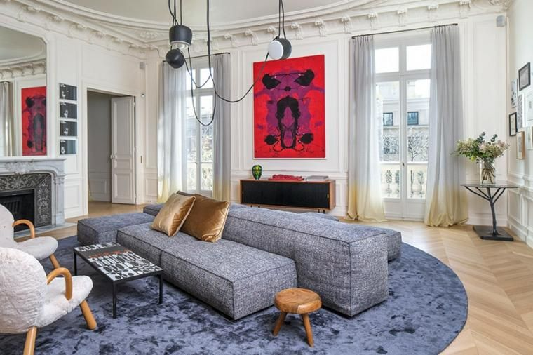 Dekorieren Salon und Designs, um Sie zu inspirieren, den Raum zu