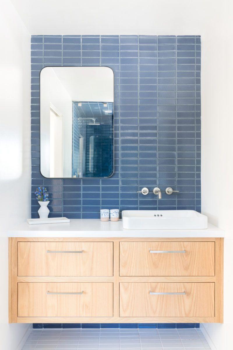 a. Naber Design Blue Bathroom Tiles   Fireclay   Blue bathroom ...