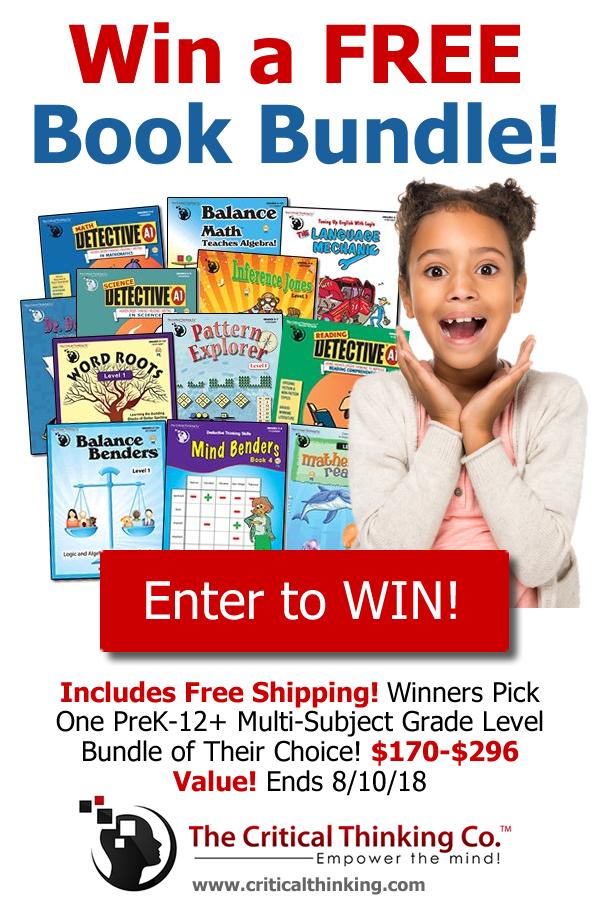 Win A Free Book Bundle Of Your Choice Homeschool Homeschool