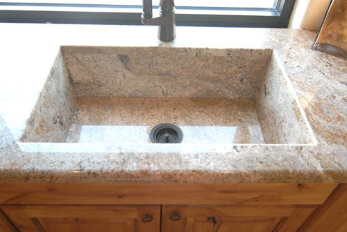 granite kitchen sinks and kitchen island design with seating easy ...